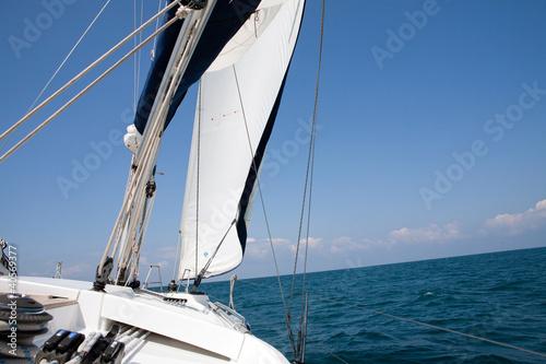 Jacht, Meer, Wind, Sport, Freizeit