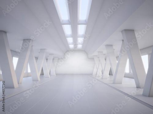 streszczenie-architektura-biale-wnetrze