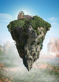 island floating