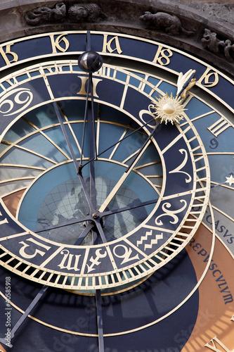 Staande foto Praag Prag, astronomische Uhr am Altstädter Rathaus