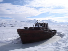 The Ship In The Ice In The Mou...