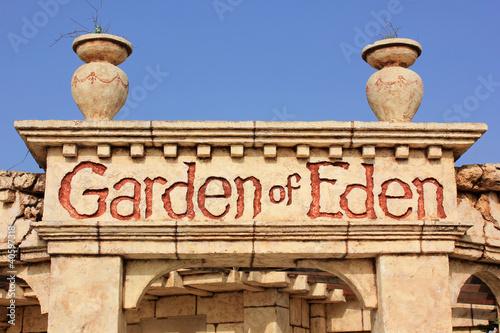 Valokuvatapetti Garden of Eden, Zakynthos island, Greece