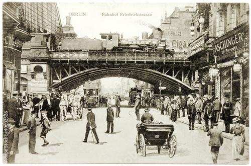Friedrichstrasse Postcard