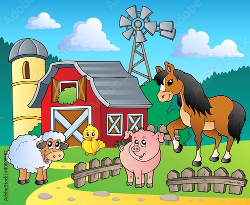 Recess Fitting Ranch Farm theme image 4