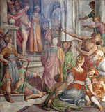 Rome - Jesus Christ for Pilatus -  Santa Prassede
