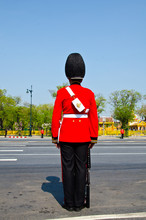 Thai King's Royal Bodyguard.