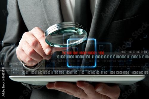Fotografia  Virus search