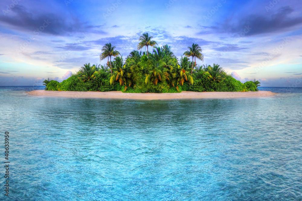 Fototapety, obrazy: Tropical island of Maldives