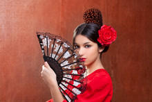Gipsy Flamenco Dancer Spain Gi...