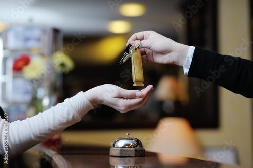 Foto Hotelrezeption