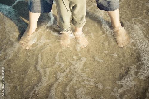 Fotografie, Obraz  Na plaży