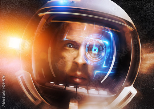 Fotografie, Obraz  Budoucí Scientific Astronaut