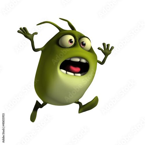 Poster de jardin Doux monstres bug
