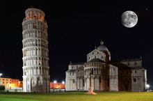 Leaning Tower On The Piazza De...