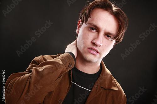 Fotografie, Obraz  Young man's expressions