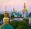 Leinwandbild Motiv View of Kiev Pechersk Lavra Orthodox Monastery, Ukraine