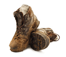 Muddy Trekking Boots