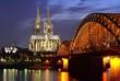 Köln Dom Katedrali ve Hohenzollern Köprüsü (Kölner Dom)