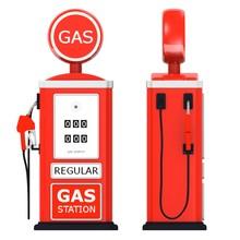 3d Render Of Gas Station