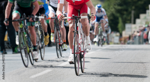 Foto op Aluminium Fietsen cycling professional race