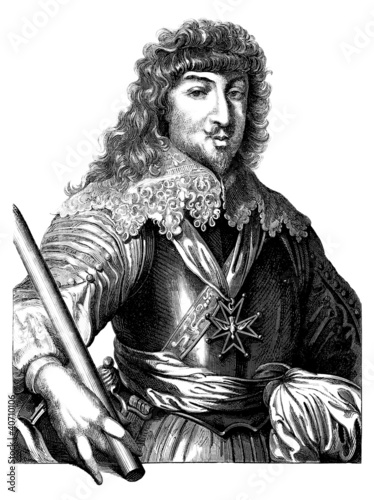 Photographie Noble Man - 17thCentury France