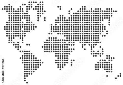 Garden Poster World Map World map