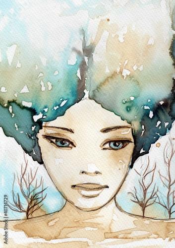 akwarelowy-portret-dziewczyny
