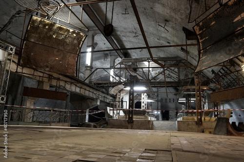 Papiers peints Les vieux bâtiments abandonnés Abandoned Base