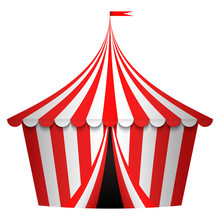 Vector Illustration Of Circus ...