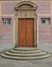 Door In The Castle Of Prague