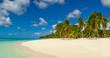 canvas print picture Carribean Beach
