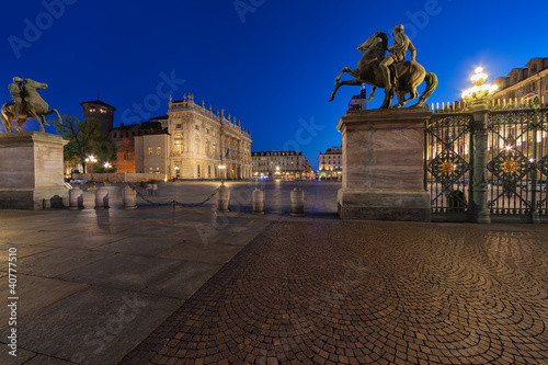 Poster Madrid Palazzo Madama al tramonto, Torino, Piemonte (Italia) - 5