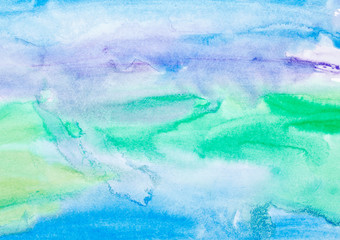 Tapeta color strokes watercolor painting art