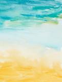 kolor kreski sztuka malowania akwarelą - 40792107