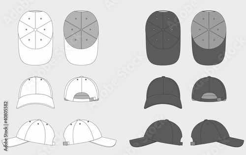 Valokuva  cap template