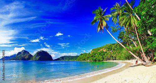 panoramic beautiful beach scenery - El-nido,palawan - 40824413