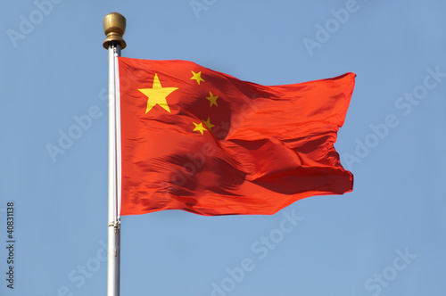 Tuinposter China Chinese Flag