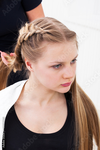 Fotografie, Obraz  Hair styling