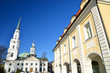 Old historic church building in Riga, Latvia