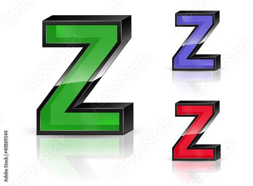 Valokuva  Z - 3D Letters