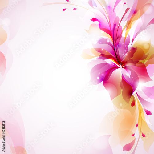 czuly-tlo-z-abstrakcjonistycznym-kwiatem