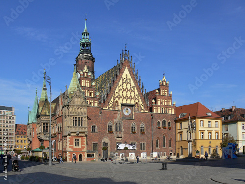 Fotografia  Wrocławski Ratusz