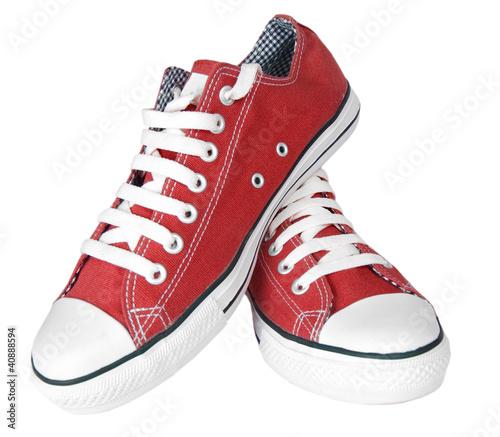 Fotografía  Pair of new sneakers