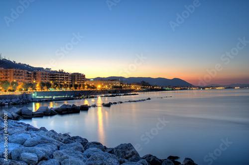Fotografia Salerno all' alba