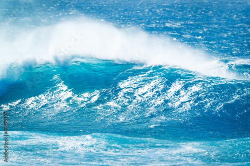 Foto auf Gartenposter Wasser Wave
