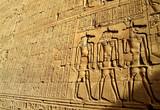 Fototapeta Kamienie - hieroglify 1