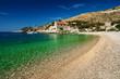 Harbor at Adriatic sea. Hvar island, Croatia