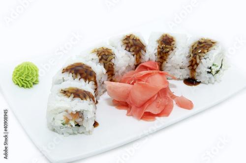 рисовые суши #40908945