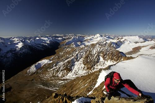 Foto op Plexiglas Alpinisme Bergsteigen im Ötztal