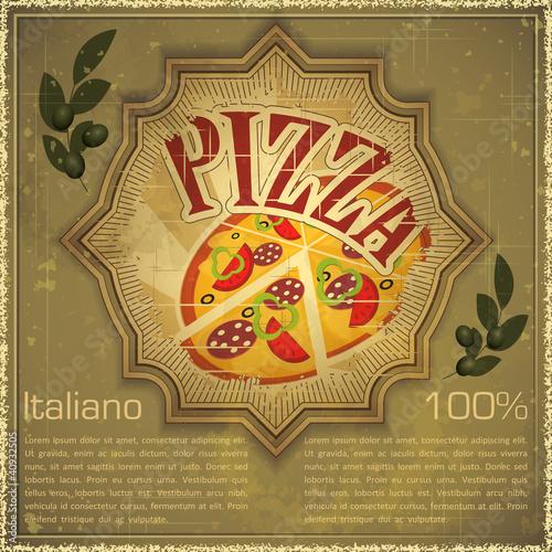 pizza-na-grunge-tle